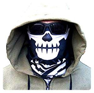 Brand new bandana face mask. Skull design